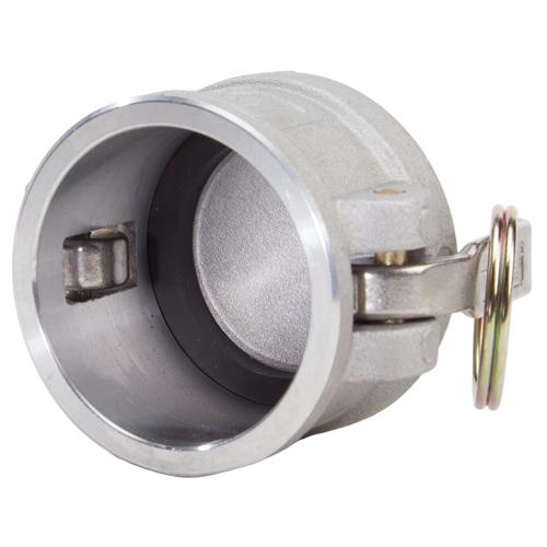 """Aluminum 2"""" Female Camlock Dust Cap (USA) - DA20DC"""