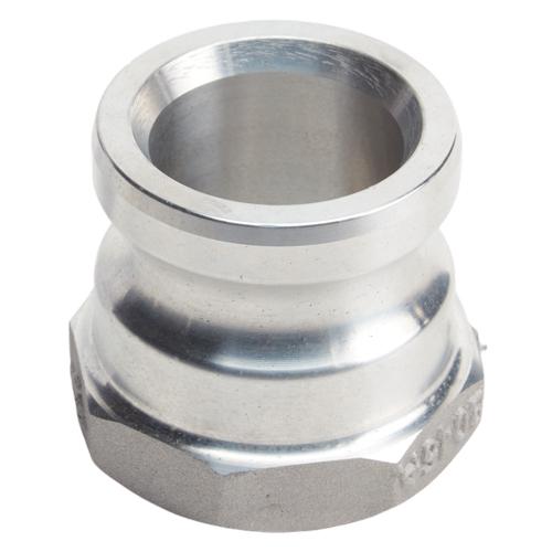 "Aluminum 2"" Male Camlock x 1 1/2"" Female NPT (USA)"