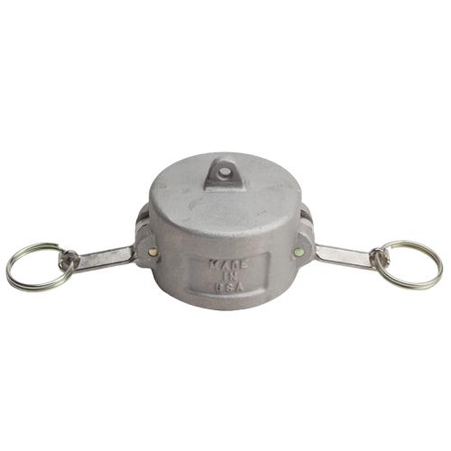 """Aluminum 2 1/2"""" Female Camlock Dust Cap (USA)"""