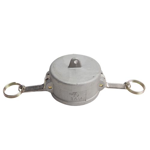 """Aluminum 3"""" Female Camlock Dust Cap (USA)"""