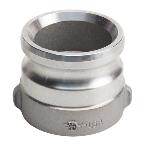 "Aluminum 3"" Male Camlock x 2 1/2"" Female NH (USA)"