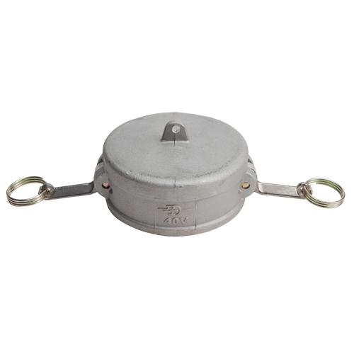 """Aluminum 4"""" Female Camlock Dust Cap (USA)"""