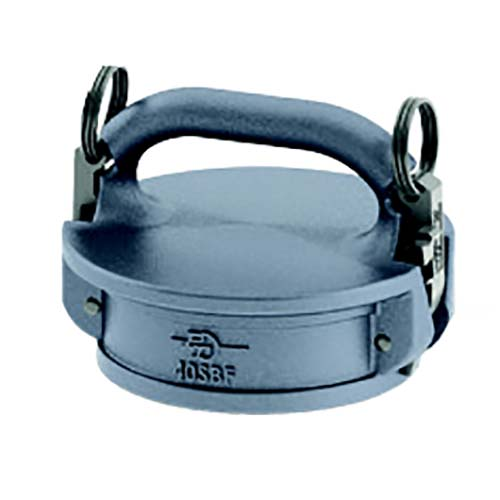 "Aluminum 4"" Female Safety Bump Cap"
