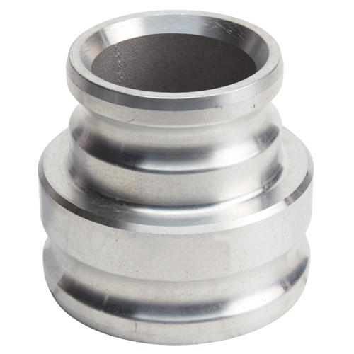 "Aluminum 4"" Male Camlock x 5"" Male Camlock (USA)"