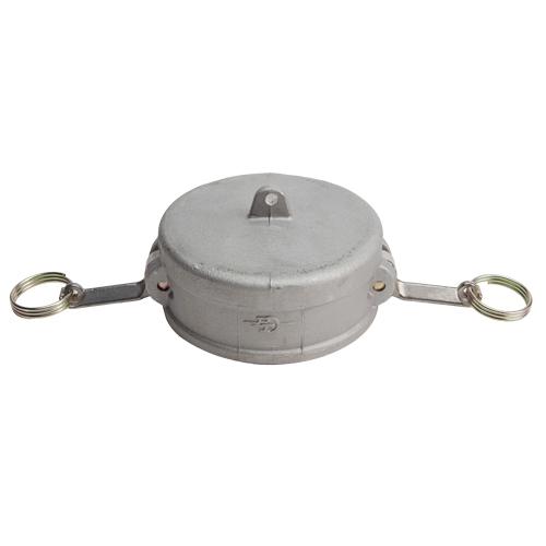 """Aluminum 5"""" Female Camlock Dust Cap (USA)"""