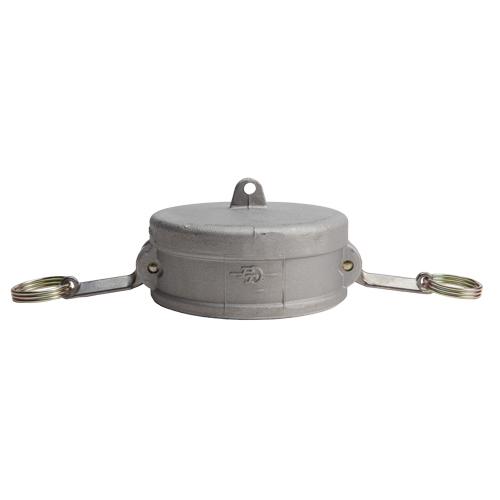"""Aluminum 5"""" Female Camlock Dust Cap (USA) - DA50DC"""