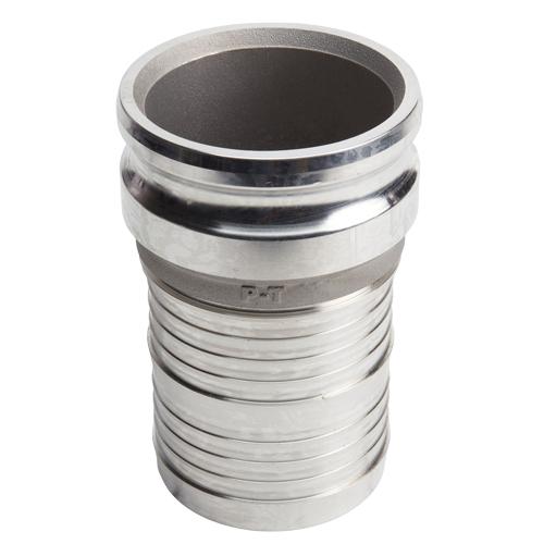 "Aluminum 5"" Male Camlock to Hose Shank (USA)"