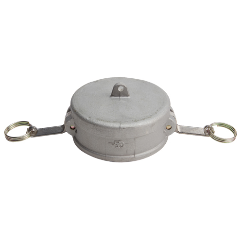 """Aluminum 6"""" Female Camlock Dust Cap (USA)"""