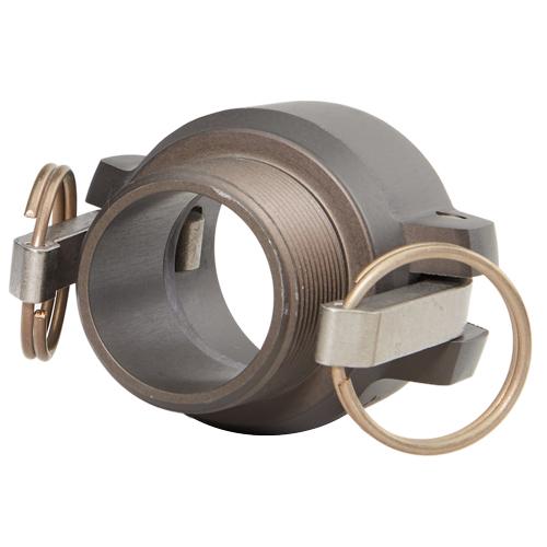 """Aluminum 1 1/2"""" Female Camlock x 1 1/2"""" Male NPT High Pressure - DAHP15F15MN"""