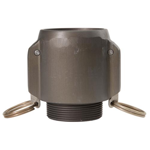 """Aluminum 2"""" Female Camlock x 2"""" male NPT High Pressure - DAHP20F20MN"""