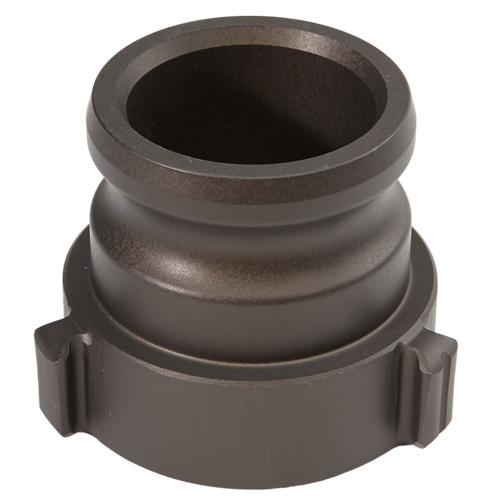 """Aluminum 2 1/2"""" Male Camlock x 2 1/2"""" Female NH High Pressure"""