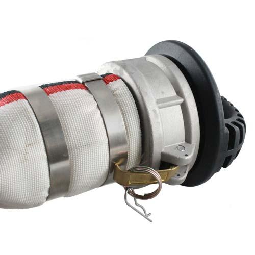 "Black 3"" Anti-Static Polypropylene Male Safety Bump Plug - DASP30MSB"