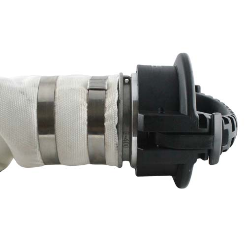 "Black 4"" Anti-Static Polypropylene Female Safety Bump Cap - DASP40FSB"