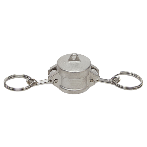 """Stainless Steel 3/4"""" Camlock Female Dust Cap (USA)"""
