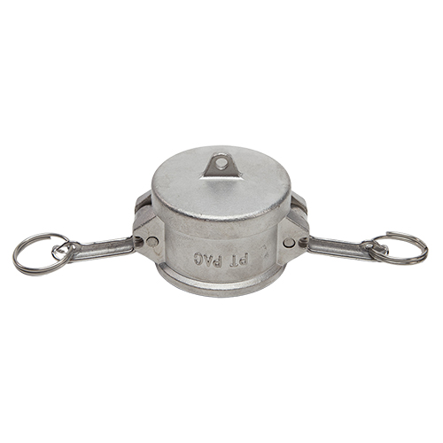 """Stainless Steel 1 1/2"""" Camlock Female Dust Cap (USA)"""