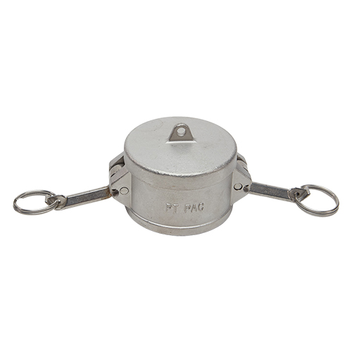 """Stainless Steel 2 1/2"""" Camlock Female Dust Cap (USA)"""