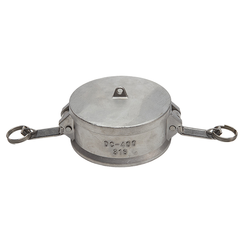 """Stainless Steel 4"""" Camlock Female Dust Cap (USA)"""