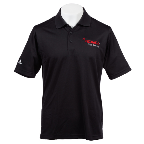 Flame Adidas Mens Golf ClimaLite® Performance Polo (Large)