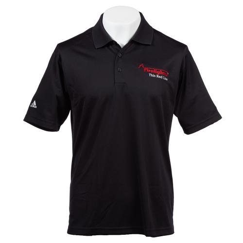 Flame Adidas Mens Golf ClimaLite® Performance Polo (Medium)