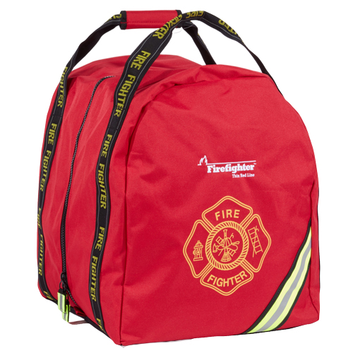 Flame Compact Boot Style Firefighter Turnout Gear Bag