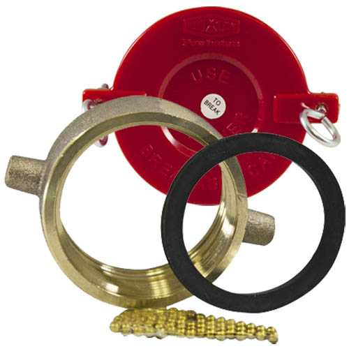 """Replacement 2 1/2"""" NH/NST Brass Swivel Kit"""