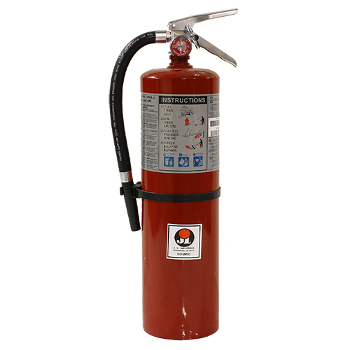Commercial Grade Fire Extinguisher 10 Pound ABC Dry Chemical