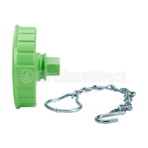 "Hi-Viz 4 1/2"" NH / NST Fire Hydrant Cap (Out of Service) - FHC45LG"