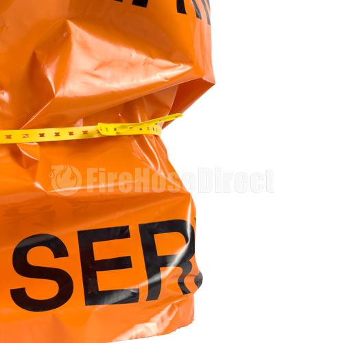 Orange Polypropylene Hydrant Bag - FHCOG
