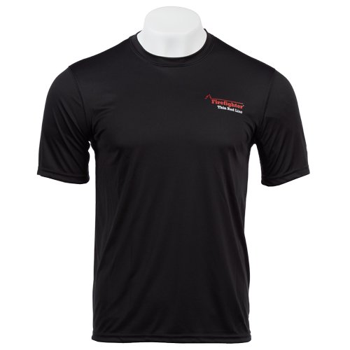 Flame Champion Mens Wicking Tee (Large)