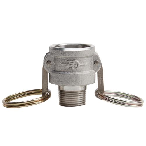 "Aluminum 3/4"" Female Camlock x 3/4"" Male NPT - GA07F07MN"