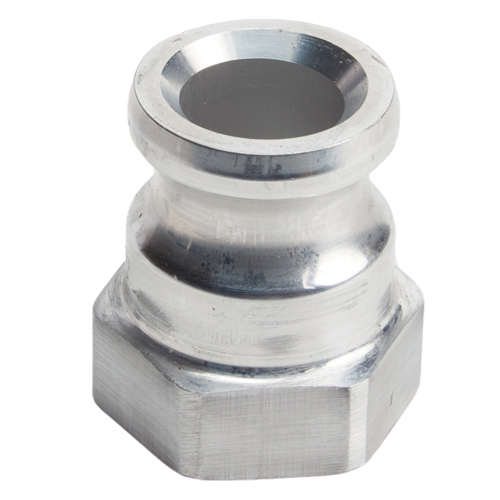 "Aluminum 1"" Male Camlock x 1"" Female NPT"
