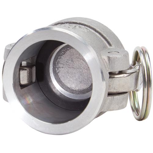 """Aluminum 1 1/4"""" Female Camlock Dust Cap - GA12DC"""
