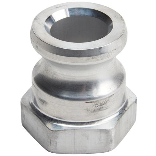 "Aluminum 1 1/4"" Male Camlock x 1 1/4"" Female NPT"