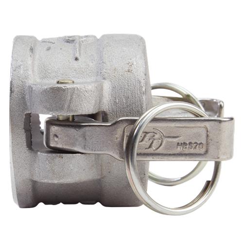 """Aluminum 1 1/2"""" Female Camlock Dust Cap - GA15DC"""