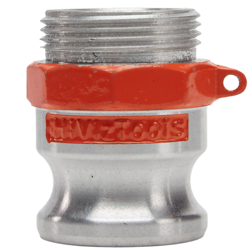 "Hi-Viz Aluminum 1 1/2"" Male Camlock x 1 1/2"" Male NH - GA15M15MNH"