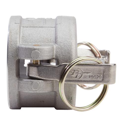 """Aluminum 2"""" Female Camlock Dust Cap - GA20DC"""