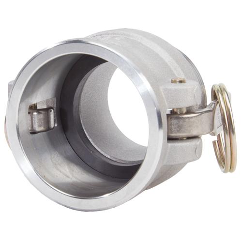 "Aluminum 2"" Female Camlock x 2"" Male NPT - GA20F20MN"