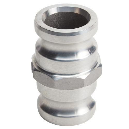 """Aluminum 2"""" Male Camlock x 2"""" Male Camlock"""