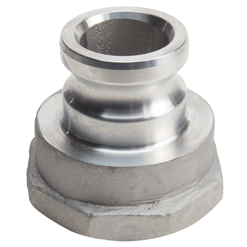 "Aluminum 2"" Male Camlock x 3"" Female NPT"