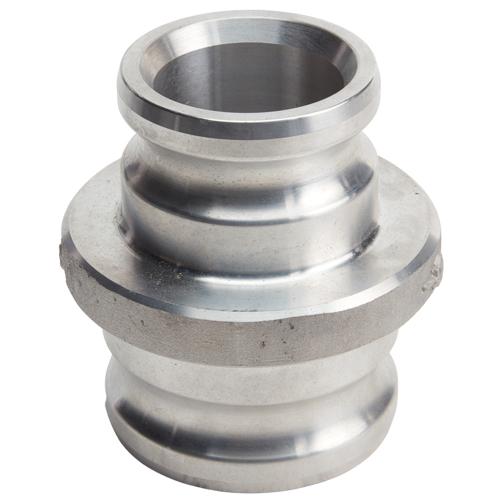 """Aluminum 2"""" Male Camlock x 3"""" Male Camlock"""