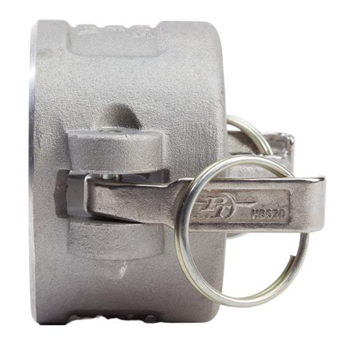 """Aluminum 2 1/2"""" Female Camlock Dust Cap - GA25DC"""