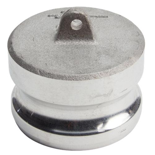 "Aluminum 2 1/2"" Male Camlock Dust Plug"