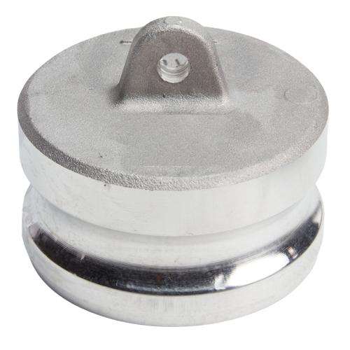 "Aluminum 3"" Male Camlock Dust Plug"
