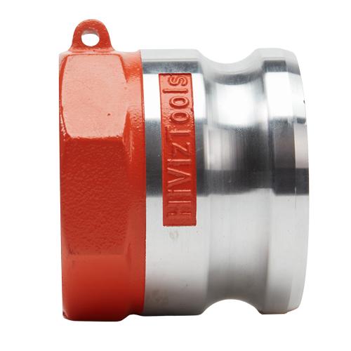"""Hi-Viz Aluminum 3"""" Male Camlock x 2 1/2"""" Female NH - GA30M25FNH"""