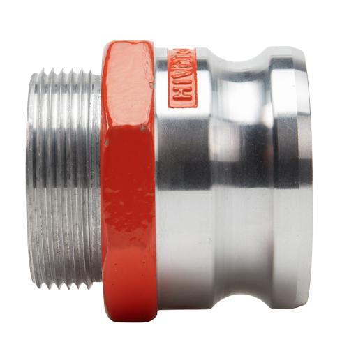 "Hi-Viz Aluminum 3"" Male Camlock x 2 1/2"" Male NH - GA30M25MNH"