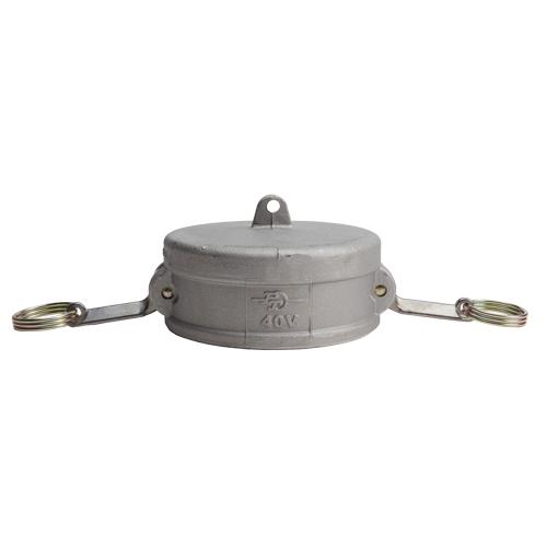 """Aluminum 4"""" Female Camlock Dust Cap - GA40DC"""