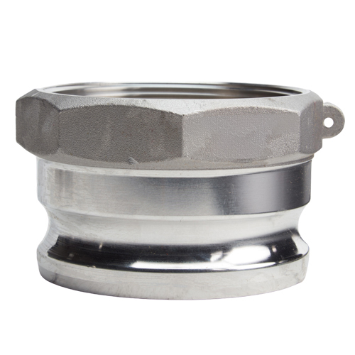 "4/"" Type A Aluminum CamlockMale Camlock Adapter x Female Pipe NPT"