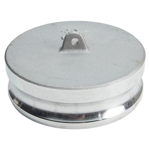 "Aluminum 6"" Male Camlock Dust Plug"