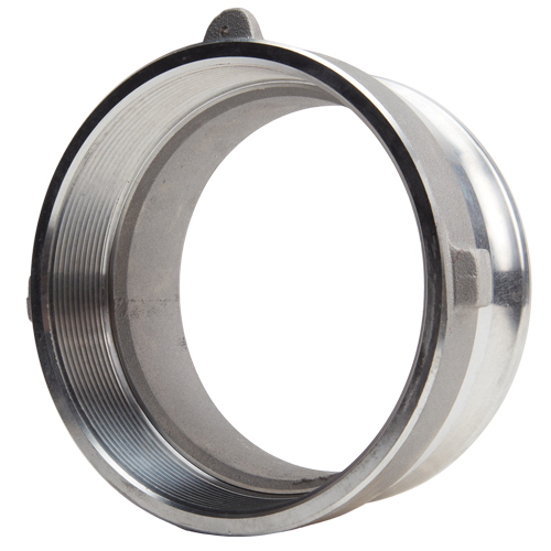 Aluminum 4 inch Female Camlock Hose Fitting x 4 inch Male National Pipe Thread