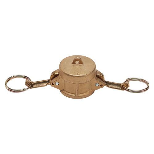 """Brass 3/4"""" Female Camlock Dust Cap"""